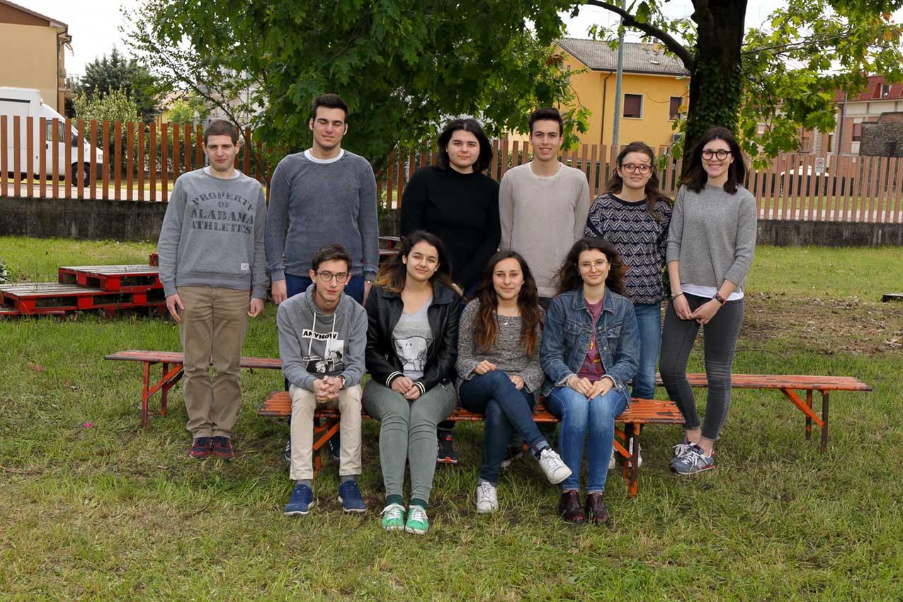 2016/2017, Liceo Medi, 5M