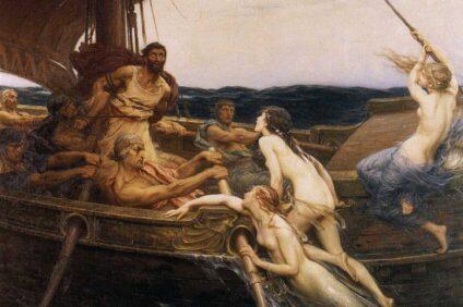 Ulisse e le sirene, Herbert James Drape (1909)