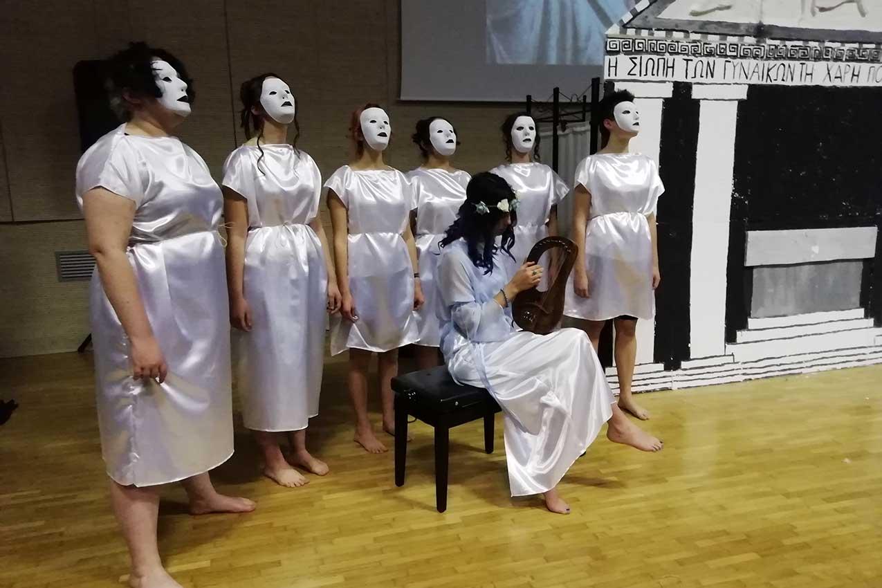 Antigone per sempre, Notte nazionale del liceo classico, Liceo Medi, Villafranca