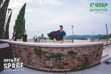 Parkour, Castel San Pietro (photo Effe Photography)