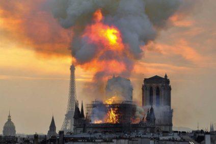 L'incendio di Notre Dame